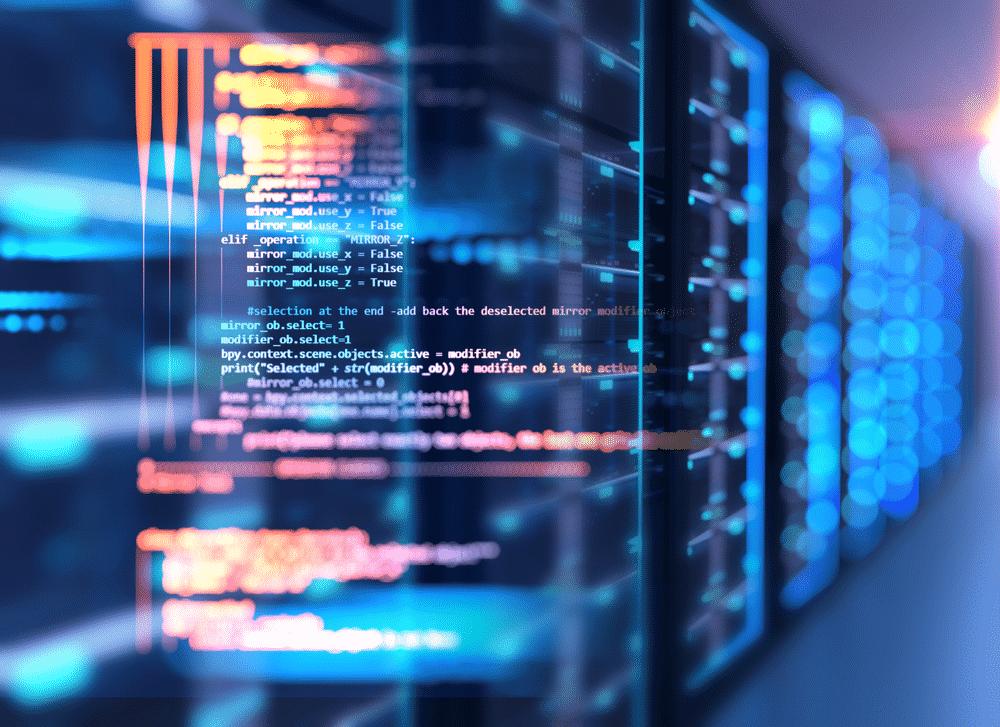 server room datacenter nodejs code